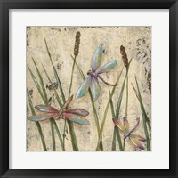 Framed Dancing Dragonflies I