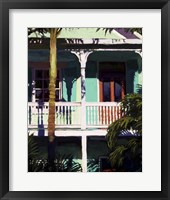 Framed Conch Republic I
