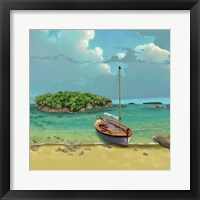 Framed Sailing Serenity I
