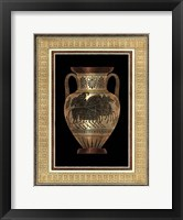 Framed Etruscan Earthenware II