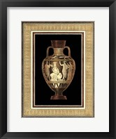 Framed Etruscan Earthenware III