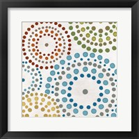 Mosaic Mandalas I Framed Print