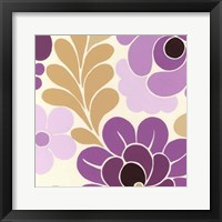 Fuchsia Floral III Framed Print