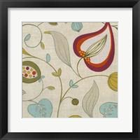 Cabana Floral II Framed Print