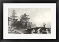 Western Gate, Peking Framed Print