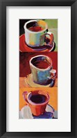 Framed Three Cups o' Joe II