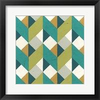 Chevron Illusion II Framed Print