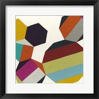 Poly-Rhythmic II Framed Print