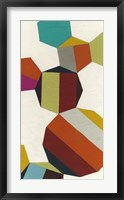Poly-Rhythmic V Framed Print