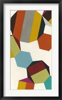Poly-Rhythimic VI Framed Print