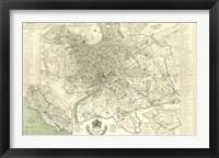 Framed Landmarks of Rome