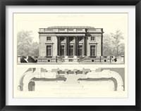Framed Palais Du Petit Trianon