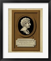 Greek Cameo I Framed Print