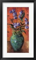 Framed Tropica blue