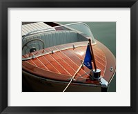 Framed Antique Boating III