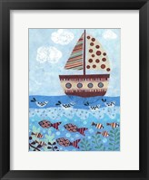 Framed Sunny Sailing