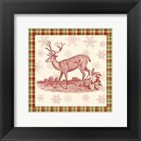 Framed Reindeer Toile II