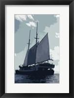 Framed Caribbean Vessel I