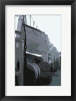 Framed Caribbean Vessel III