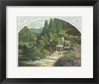 Framed Lavender Garden