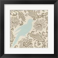 Framed Island Tapestry I
