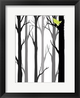 Framed Forest Silhouette II