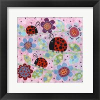 Framed Lady Bugs
