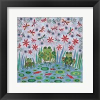 Framed Frog Pond