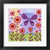 Framed Butterfly Meadow