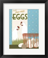 Framed Free-Range Eggs