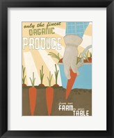 Framed Organic Produce