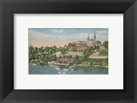 Framed Georgetown from the Potomac River