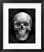 Framed Glam Skull