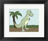 Framed Prehistoric Playtime I