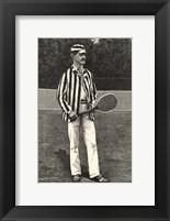 Framed Harper's Weekly Tennis I