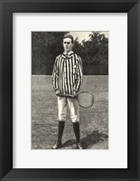 Framed Harper's Weekly Tennis III