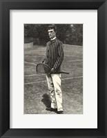 Framed Harper's Weekly Tennis IV