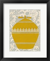Pottery Patterns II Framed Print