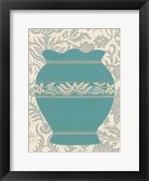 Pottery Patterns IV Framed Print