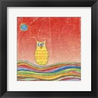 Framed Feathers, Dots & Stripes VI