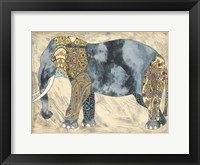 Framed Royal Elephant