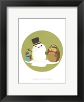 Happy Owlidays I Framed Print