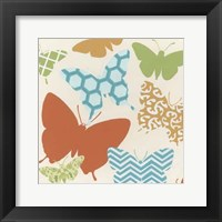 Butterfly Patterns II Framed Print