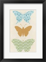 Butterfly Patterns IV Framed Print