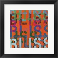 Framed Bliss