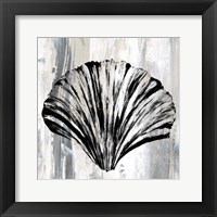 Framed Black Shell I