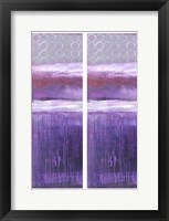 Framed 2-Up Purple Rain I