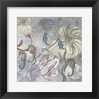 Framed Seahorse Collage II