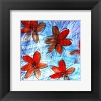 Framed Flower Strokes II