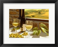 Framed Wine Country - Mendocino